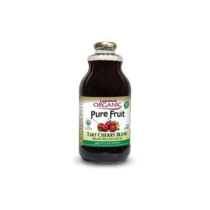 Lakewood Organic Tart Cherry 100% Juice Blend 32 Oz (Pack Of 2)