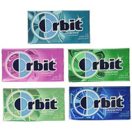 Wrigley'S Orbit 20 Pack - 14 Piece Packages - Sugar Free Gum - Variety Box