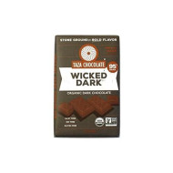Taza Chocolate Organic Amaze Bar 95% Stone Ground, Wicked Dark, 2.5 Ounce (1 Count), Vegan