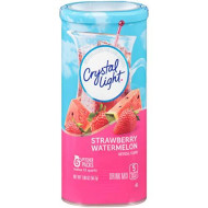 Crystal Light Strawberry Watermelon Drink Mix, 12-Quart Canister (Pack Of 6)