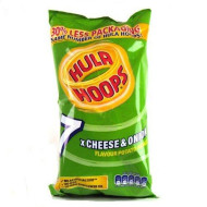Kp Hula Hoops 6 Pack (Cheese And Onion) By Kp
