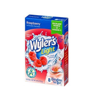 Wyler'S Light Raspberry Singles To Go, 8 Drink Packets Per Box (Pack Of 6)