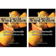 Wind & Willow Sweet Cheeseball And Dessert Mix - 3.5 Oz. (2-Pack) (Lemon Cheesecake)