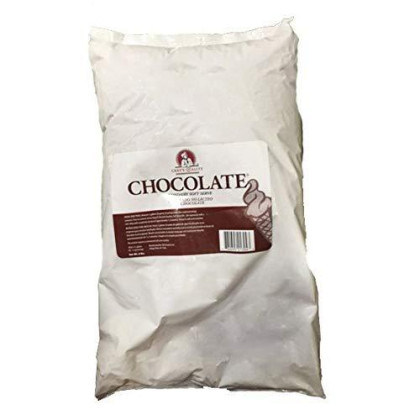 Chef's Quality Soft Serve Mix Bag, Chocolate Ice Cream Mix, 6 Lb