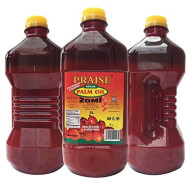 Praise Red Palm Oil, 2-Liters - Zomi