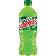 Mountain Dew Soda, 20 Ounce (24 Bottles)
