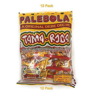 Tama Roca Palebola Natural Tamarind Candy Lollipop With Salt And Chili. Mexican Tamarind Candy 2.1 Ounce Each Individually Wrapped Lollipop (12 Pieces Pack 25.2 Ounces)