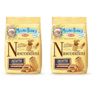 "Mulino Bianco: ""Nascondini"" shortbread with chocolate - 11.64 Oz (330g) Pack of 2 [ Italian Import ]"