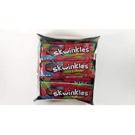 Skwinkles Rellenos Sandia Enchilada Hot Watermelon Filled Candy Strips, 12 Count