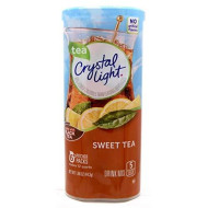 Crystal Light Sweet Tea Drink Mix, 12-Quart 1.56-Ounce Canister (Pack Of 5)