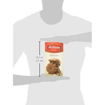 Archway Cookies, Soft Molasses, 9.5 Ounce (Pack Of 9)