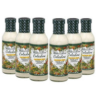 Walden Farms Caloried Free Dressing Coleslaw - 12 Fl Oz (6 Bottles)