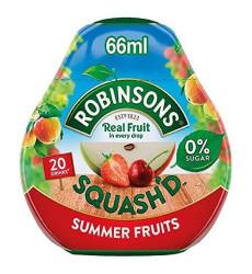 Robinsons Squash'D Summer Fruits No Added Sugar (66Ml) - Pack Of 2