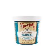 Bob'S Red Mill Gluten Free Oatmeal Cup, Classic With Flax/Chia, 1.81-Ounce (Pack Of 12)