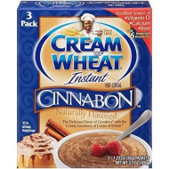 Cream Of Wheat Cinnabon Flavor Instant Hot Cereal( 1.23 Ounce, 3 Pack )