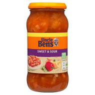 Uncle Ben's Sweet & Sour Sauce - 450g - Single Jar (450g x 1 Jar)