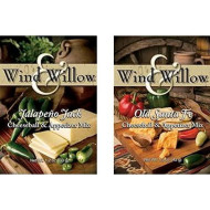 "Wind & Willow""All American"" Savory Cheeseball And Dip Mix Variety Pack (Jalapeno Jack/Old Santa Fe)"