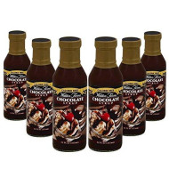 Walden Farms Syrup Cf Choc Gf, 12 Ounce - Pack 6