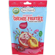 Torie And Howard Organic Pomegranate And Nectarine Chewie Fruities, 4 Ounce - 6 Per Case.