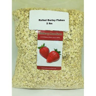 Rolled Barley Flakes 2 Pounds All Natural, Non-Gmo Bulk