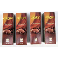 """Vicenzi: """" Grisbi Cioccolato """" Chocolate Biscuits 5.29 Ounce (150gr) Packages (Pack of 4) [ Italian Import ]"""