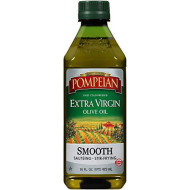 Pompeian Smooth Extra Virgin Olive Oil, 16 Fl Oz