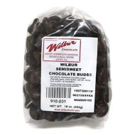 Wilbur Buds Semisweet Dark Chocolate Buds, 16 Oz. Bag