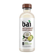 Bai Coconut Flavored Water, Andes Coconut Lime, Antioxidant Infused Drinks, 18 Fluid Ounce Bottles, 12 Count