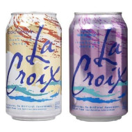 La Croix Sparkling Water Bundle Of 12/12 Oz Cans: 6 Coconut And 6 Berry