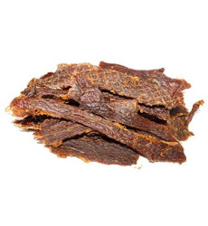 People'S Choice Beef Jerky - Old Fashioned - Original - Healthy, Sugar Free, Zero Carb, Gluten Free, Keto Friendly, High Protein Meat Snack - Dry Texture - 1 Pound, 16 Oz - 1 Bag