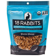 18 Rabbits Organic Gracious Granola, Pecan, Almond and Coconut, 11 Ounce bag