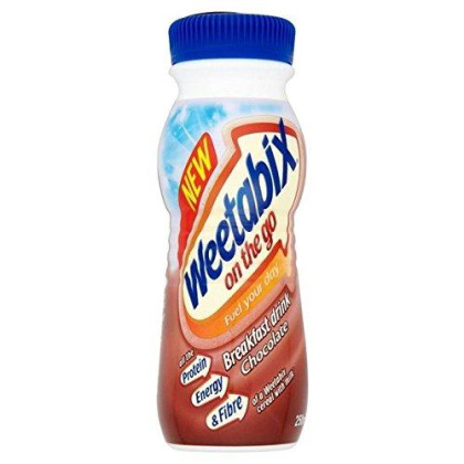 Weetabix On The Go Drink Chocolate 250Ml - Pack Of 2