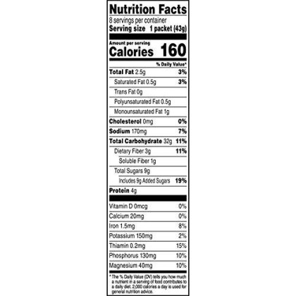 Quaker Gluten Free Instant Oatmeal, Original, Non GMO Project Verified, Individual Packets, 60 Count