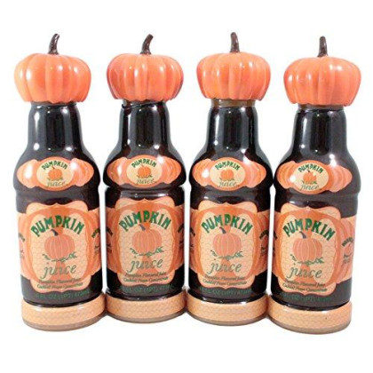 Wizarding World Harry Potter Bottle Pumpkin Juice 16 Oz Pack of 4 Universal Exclusive