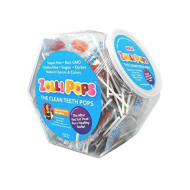 Zollipops Clean Teeth Lollipops | Anti-Cavity, Sugar Free Candy With Xylitol For A Healthy Smile - Great For Kids, Diabetics And Keto Diet (Assorted Flavors, Approx 150 Count Jar)