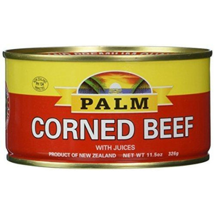 Palm Corned Beef - Premium Quality From New Zealand - 12 x 11.5 Oz (326 grams) by Palm