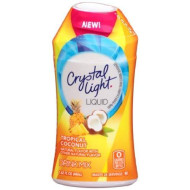 Crystal Light Tropical Coconut Liquid Water Enhancer 1.62 Fluid Ounces (12 Pack)