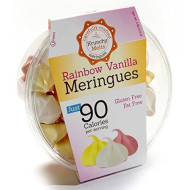 Original Meringue Cookies (Rainbow Vanilla) ? 90 calories per serving, Gluten Free, Fat Free, Nut Free, Low Calorie Snack, Kosher, Parve ? by Krunchy Melts