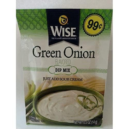 Wise Green Onion Dip Mix 10 Pk