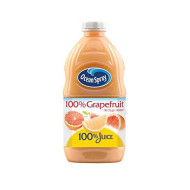 Ocean Spray 100% Juice, Grapefruit, 60 Ounce Bottle (Pack Of 8)
