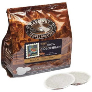 Baronet Coffee 100% Colombian Coffee Pods Bag, 54 Count