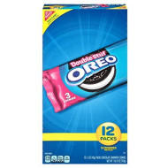 Oreo Double Stuf Chocolate Sandwich Cookies (1.5-Ounce Single-Serve Packages, 12-Pack)