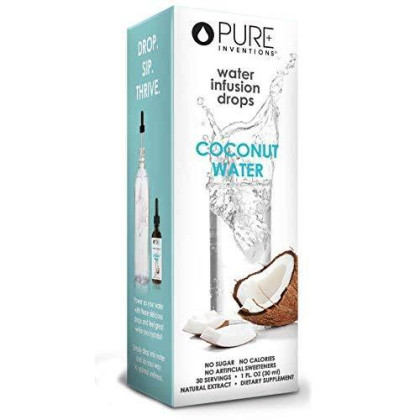 Pure Hydration - Coconut Water Enhancer (30 Servings) 1 Oz - Pack Of 2