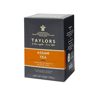 Taylors Of Harrogate Assam, 20 Count(Pack Of 1)