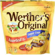 Werther'S Original Sugar Free Assorted Hard Candies, 7.7 Ounce Bag, Hard Candy, Bulk Candy, Individually Wrapped Candy Caramels, Caramel Candy Sweets, Bag Of Candy, Hard Candy Bulk