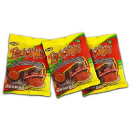 Jovy Enchilokas Watermelon Flavor Tamarind Covered Gummies With Chilli | Mexican Candy, Chilli - Covered Snacks Pack Of 3 6Oz Each