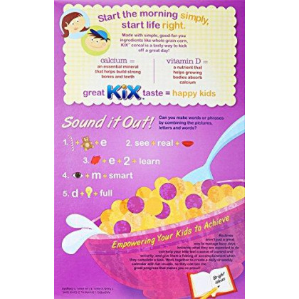 Kixberry Berry Cereal 12 Oz Box