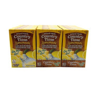Country Time Singles To Go Lemonade Flavor Low Calorie Drink Mix (Lemonade, 18 Pack)