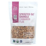 One Degree Sprouted Oat Cinnamon Flax Granola, 11 Oz (Pack Of 6)