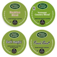 Green Mountain Coffee Roasters 6501 Regular Variety Pack Coffee K-Cups, 22/box